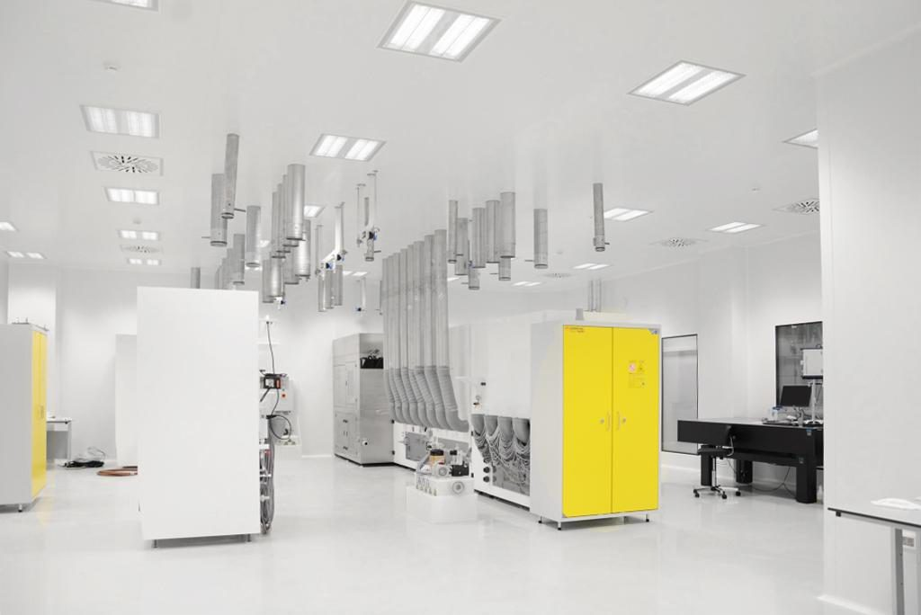 Zmaj products, modular cleanroom ceiling